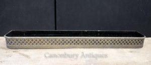 Antike Kunst Nouveau Messing Pflanzer Trog Fenster Korb Adelphi Hotel Liverpool