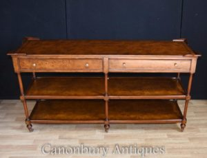 Regency Walnuss Sideboard Server Regal