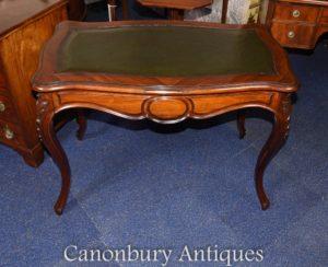 Antiker französischer Schreibtisch aus Palisander
