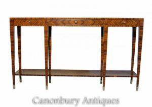 Art Deco Konsolentisch Palisander Hall Tische