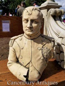 Steinbüste Kaiser Napoleon Bonaparte Französisch