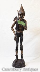 Bronze Celtic Pixie Statue Fairey Casting