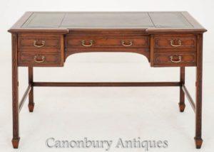 Chippendale Schreibtisch Schreibtisch Mahagoni Circa 1890