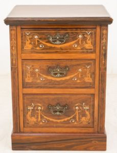 Antike Kommode Nachttischschrank 1880