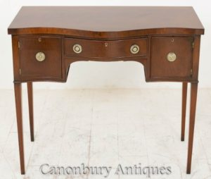 Georgian Sideboard Mahagoni Server Buffet Antik