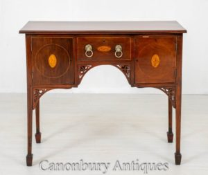 Georgian Sideboard Mahagoni Server Buffet um 1800