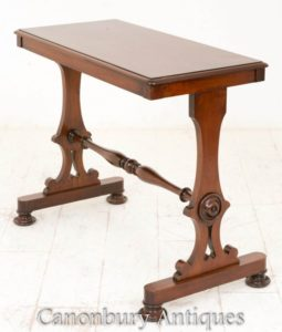 Victorian Center Table Side Antike um 1850