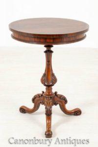 Viktorianischer Beistelltisch - Antike Beistelltische um 1850