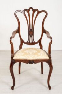 Hepplewhite Arm Chair - Mahagoni Carver Dining