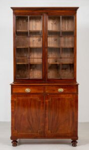 William IV Bücherregal - Antik Mahagoni Schrank