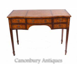Regency Schreibtisch - Walnut Desk Bureau