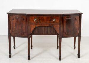 Regency Sideboard - Antikes Möbel Mahagoni Buffet