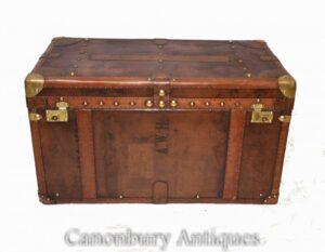 Vintage Dampfer Koffer Koffer - Gepäckbox Couchtisch Interieur