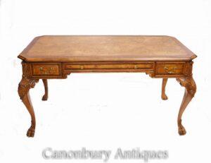 Walnut Regency Desk - Büro für antike Schreibtische