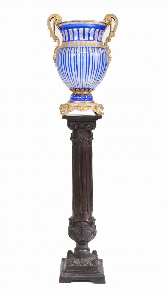 Campana Urn Empire Glas Klassische Französische Vase