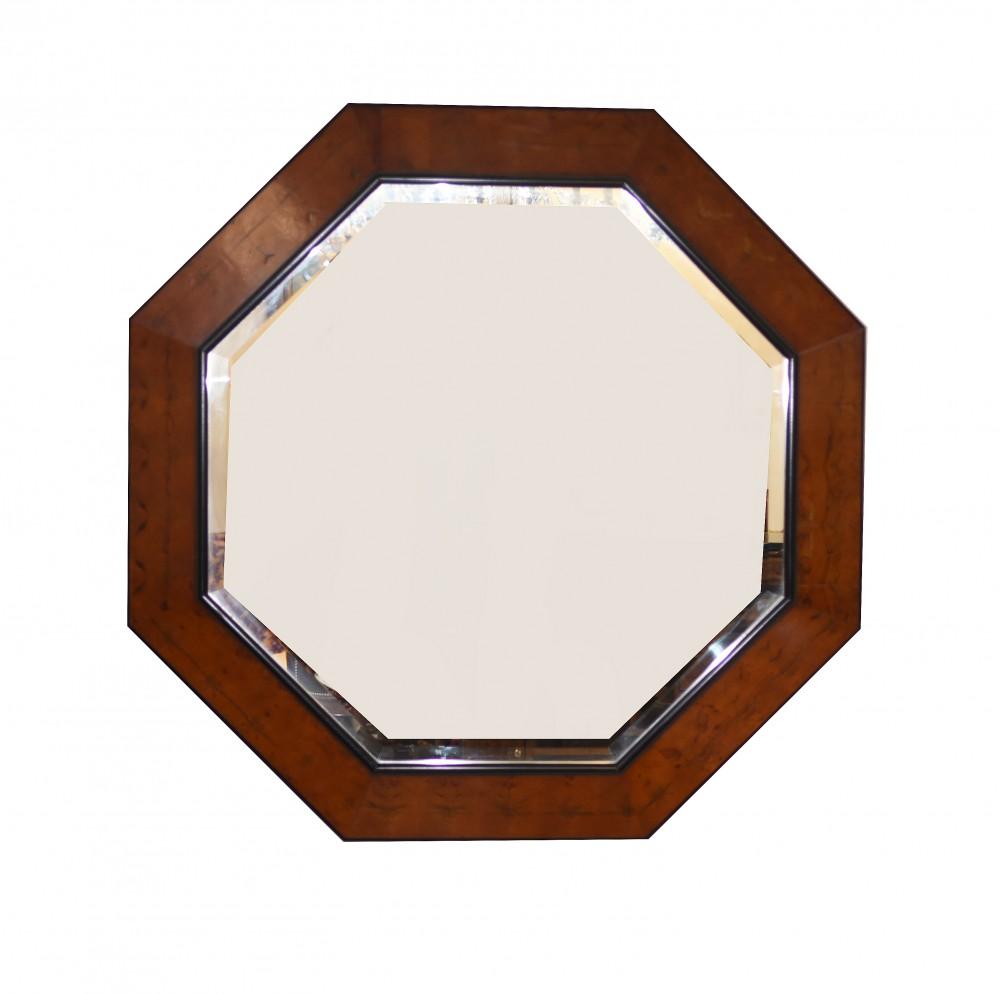 Regency Achteckiges Spiegelglas