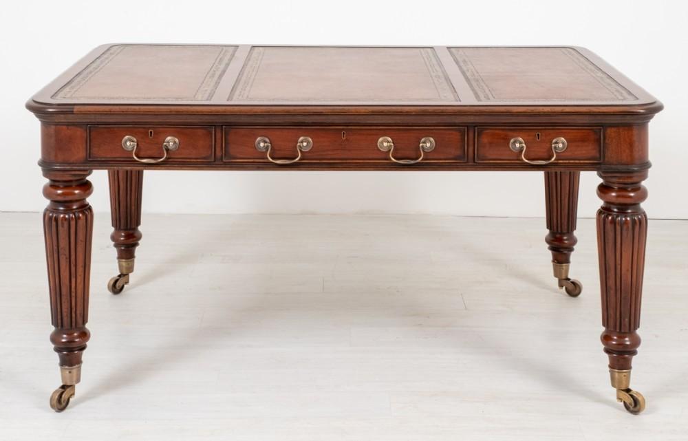William IV Schreibtisch Schreibtisch Mahagoni